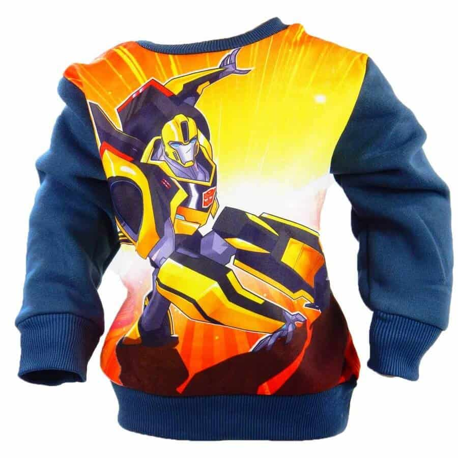Hainute copii disney, bluza matlasata Optimus Prime