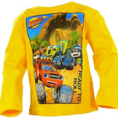 Alege aceasta bluza pentru copii Blaze si Masinile Uriase