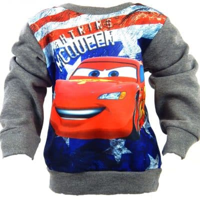 Alege bluza flausata- bluza Cars