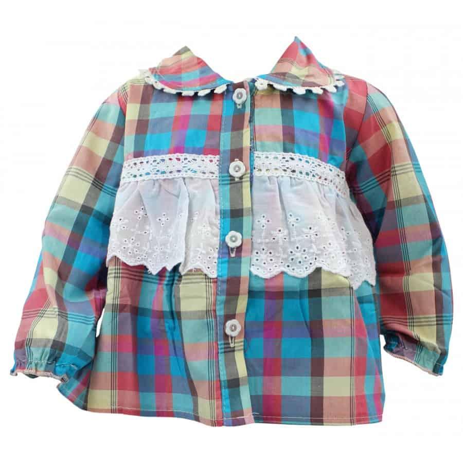 Camasa colorata pentru fetite