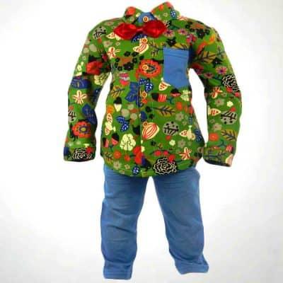 Alege haine copii, costumas baieti colorat