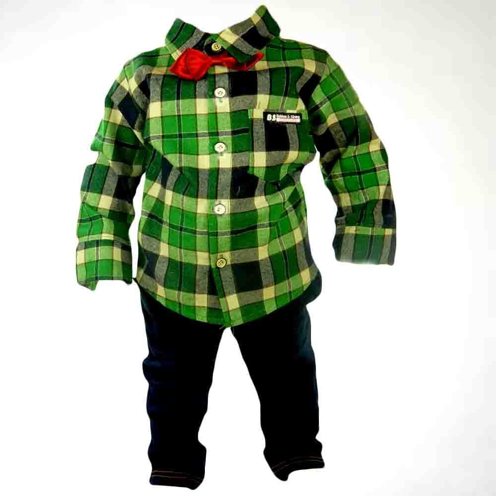 Compleu bebelusi-Blugi si camasa