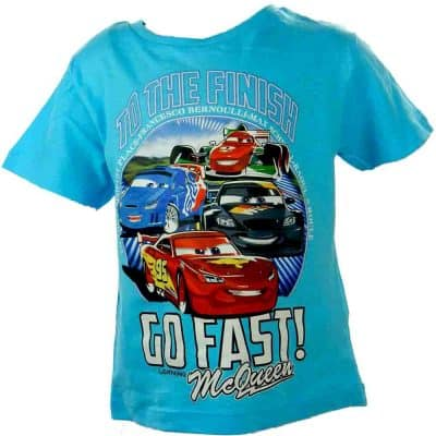 Alege haine de copii- Tricou baieti cars