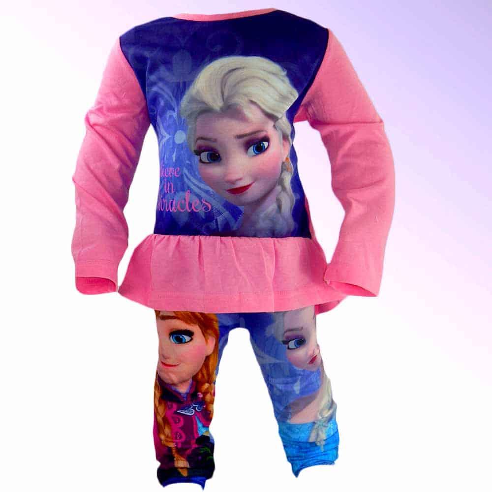 Set bluza si colanti Frozen