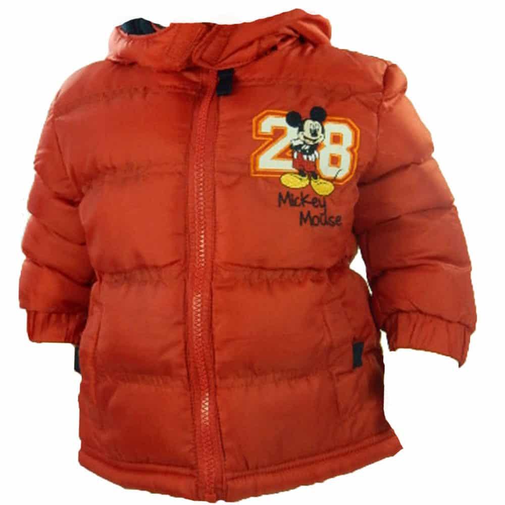 Haine ieftine bebelusi, geaca iarna Mickey