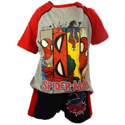Alege haine de vara baieti-compleu Spiderman