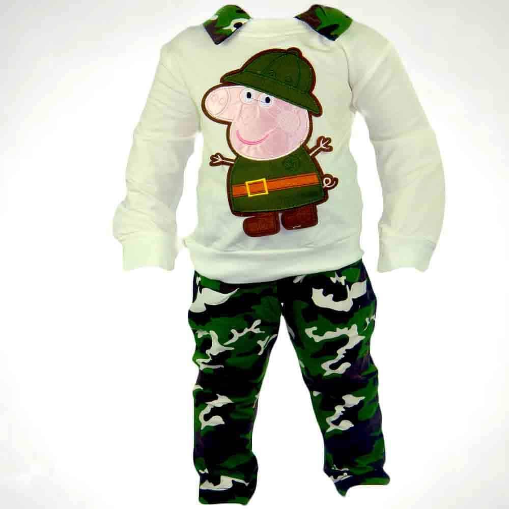 Haine copii online. Bluza si pantaloni army