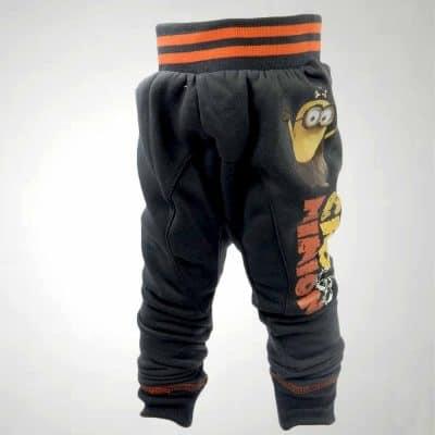 Haine ieftine copii, pantaloni grosi cu Minioni