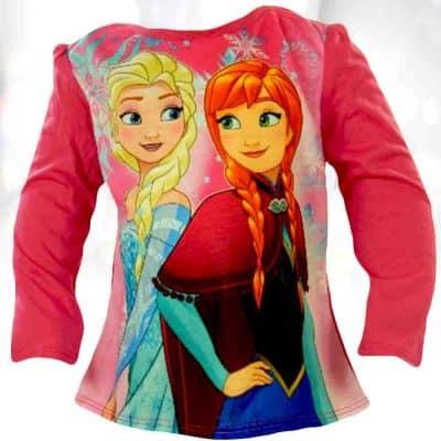 Alege bluza Ana si Elsa ptr micuta ta