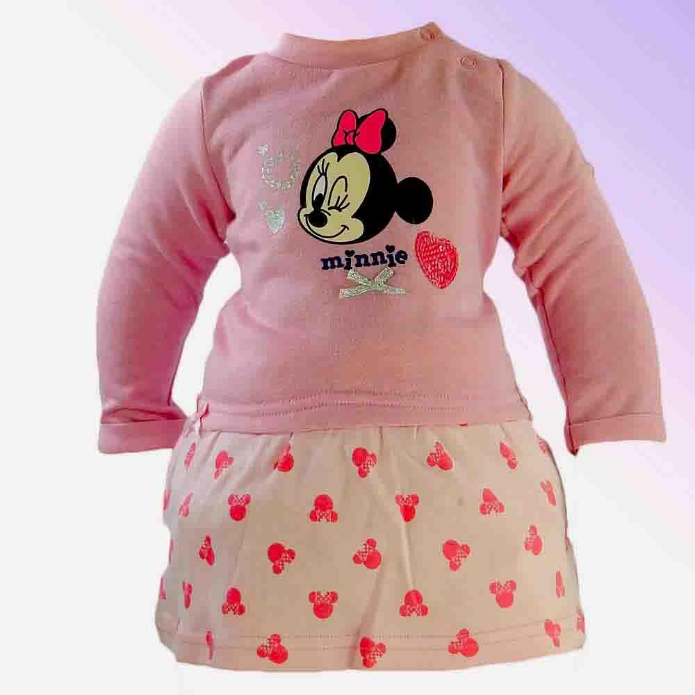 Rochita bebelusi fetite roz Minnie Mouse