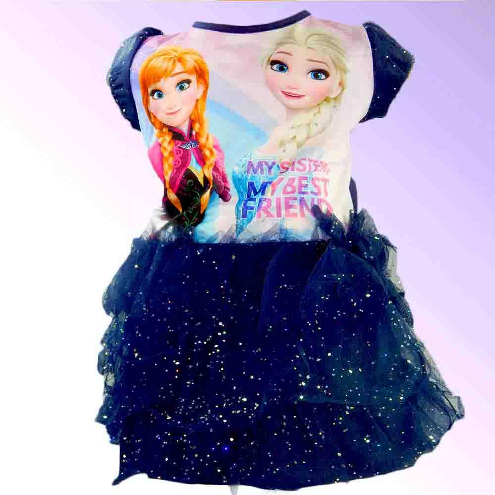 Rochite fete, rochie disney Frozen Ana Elsa