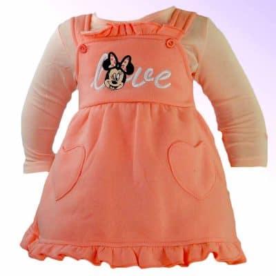 Haine bebelusi-Rochita cu bluzita