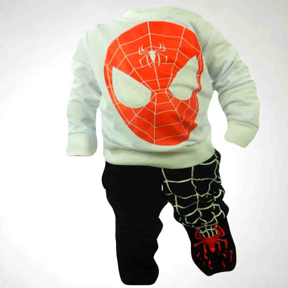 Trening copii Spiderman din bumbac