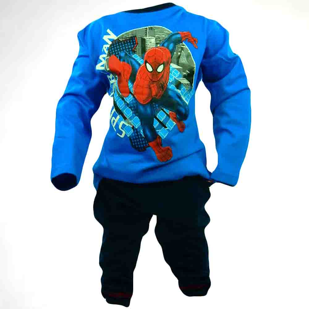 Trening bumbac copii-pijamale disney Spiderman 3-6 ani