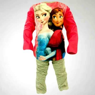 Alege hainute Frozen, set bluza si colanti