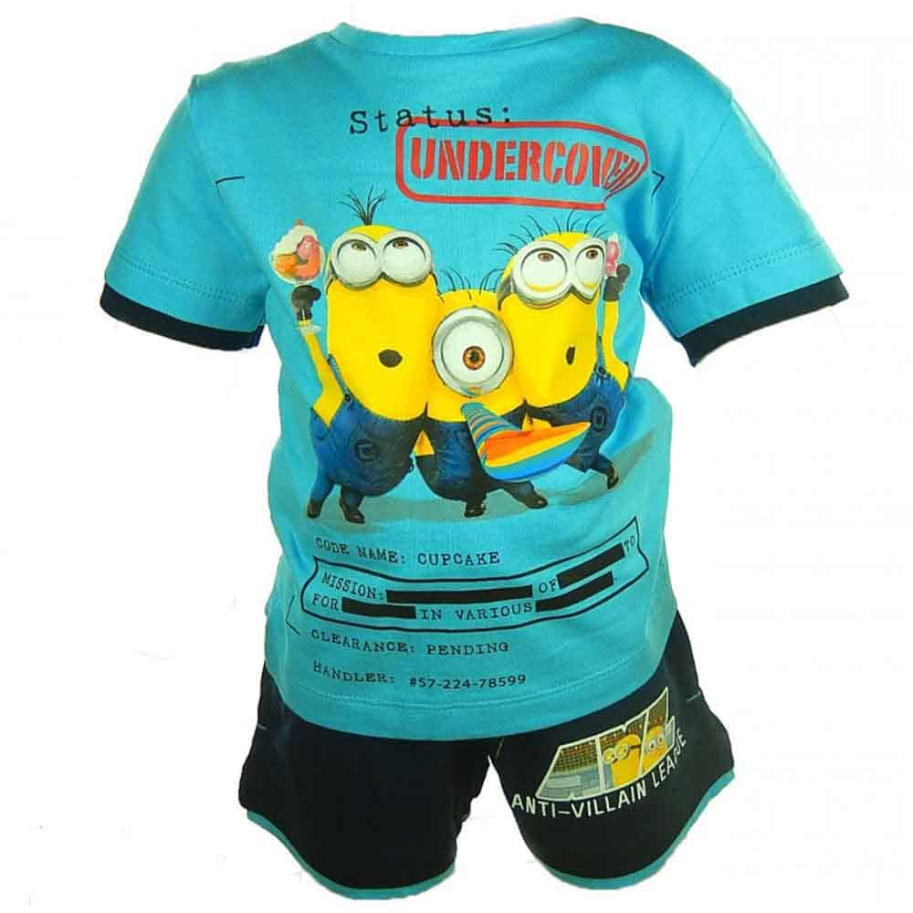Alege hainute pentru copii colorate, set Minion