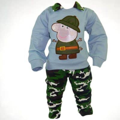 Alege hainute bebelusi, set bebe Army