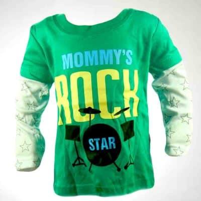Bluza bebelusi 18 luni. Star Rock