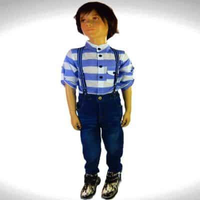 Alege haine de copii, costum elegant 3 piese