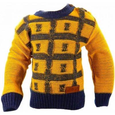 Haine bebelusi-pulover tricotat