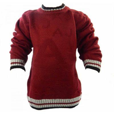 Pulover copii tricotat