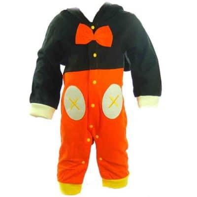 Salopeta pentru bebelusi Mickey