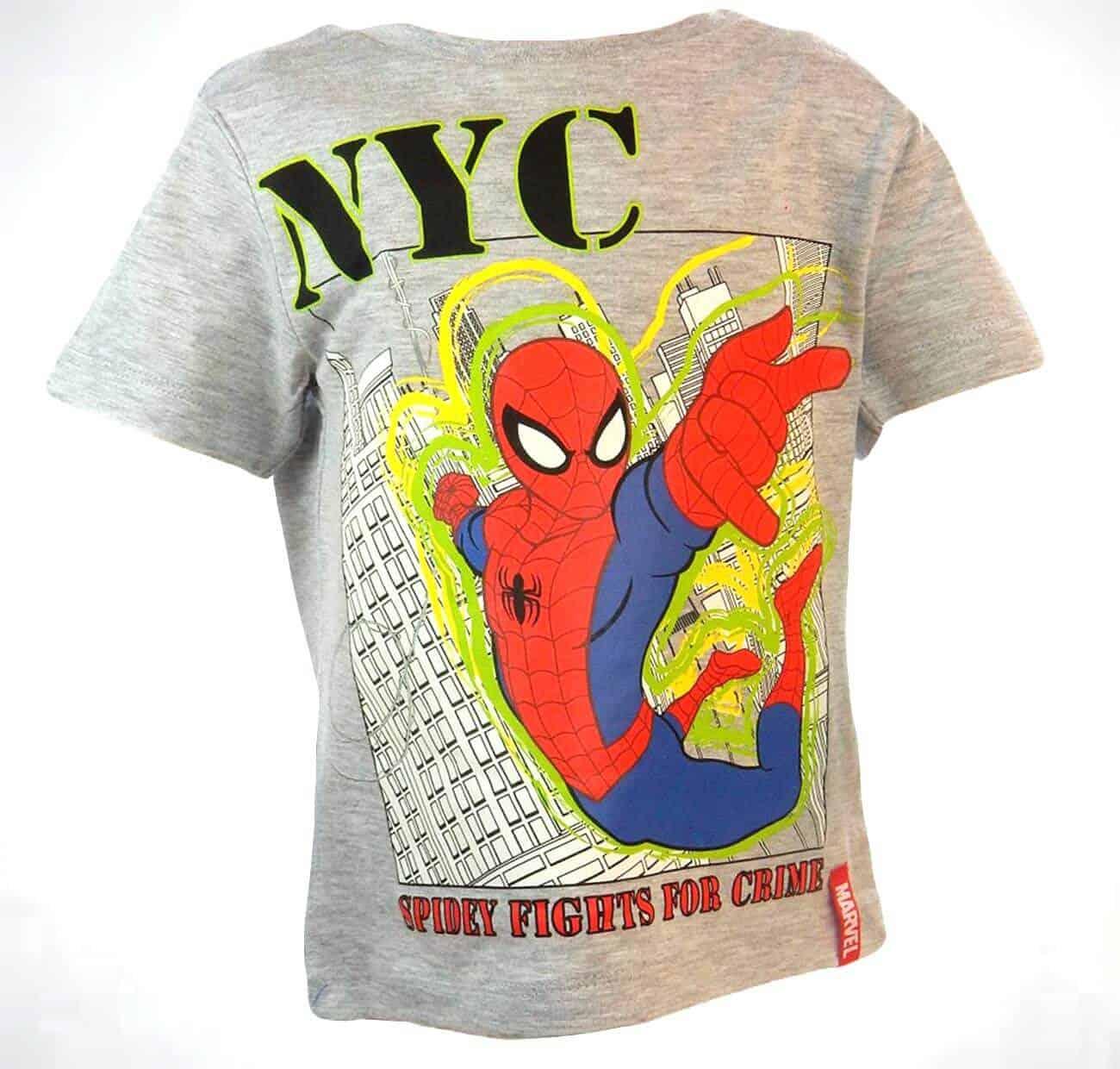 Alege haine pentru baieti, tricou Spiderman