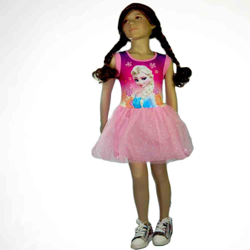 Haine cu Ana si Elsa, rochita fete
