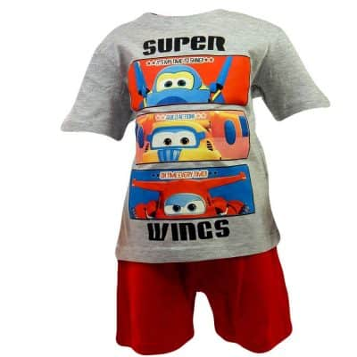 Set tricou cu pantaloni scurti copii