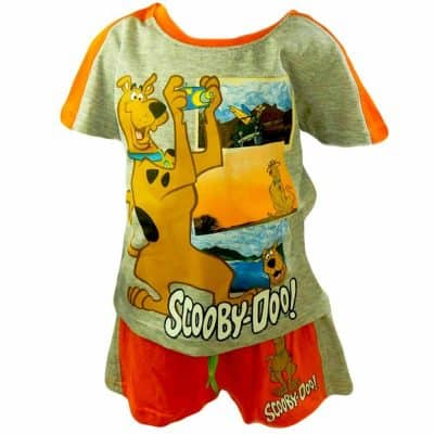 Tricou si pantaloni scurti copii Scooby Doo