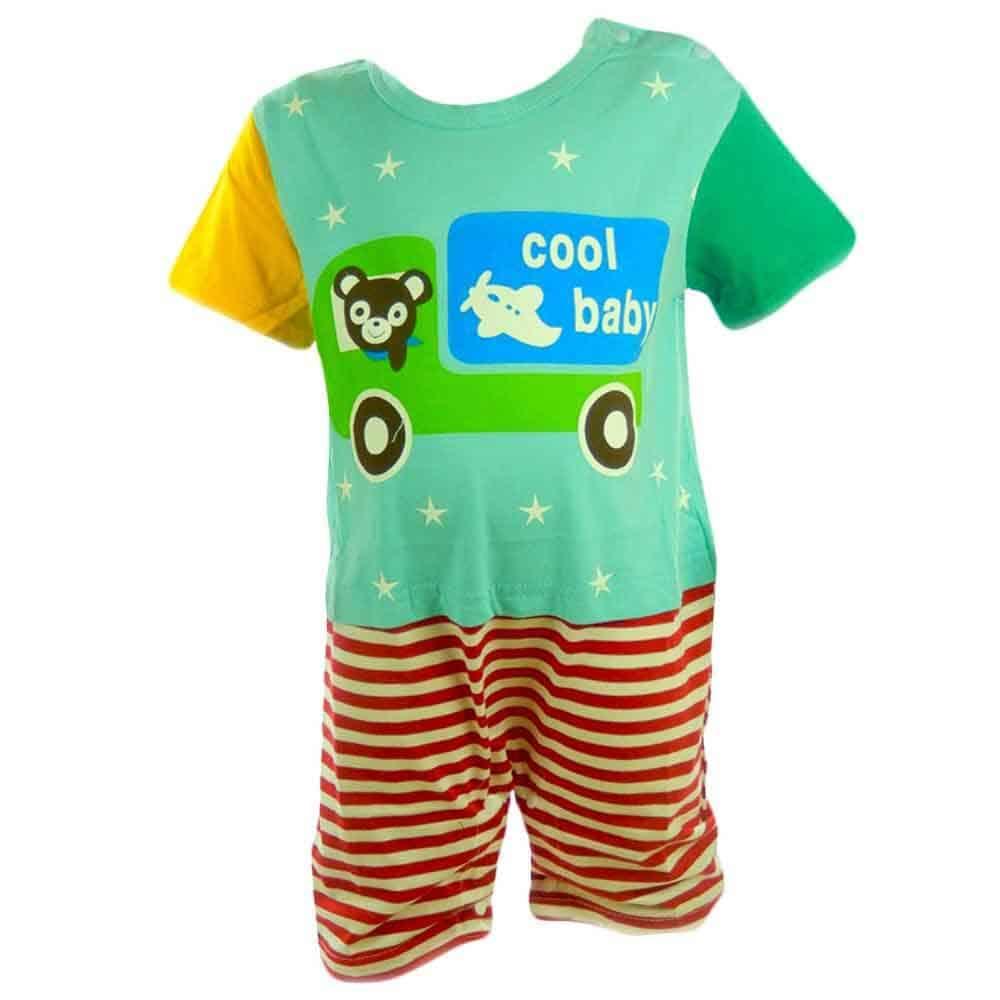 Reduceri haine bebe. Salopeta vara