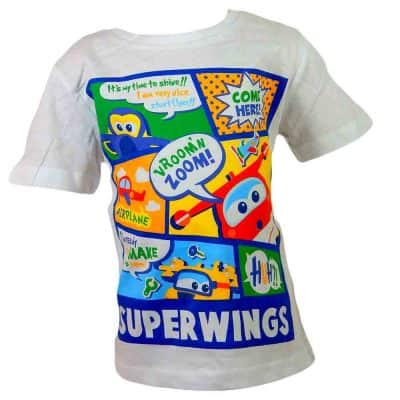 Haine pt copii, tricou disney Super Wings