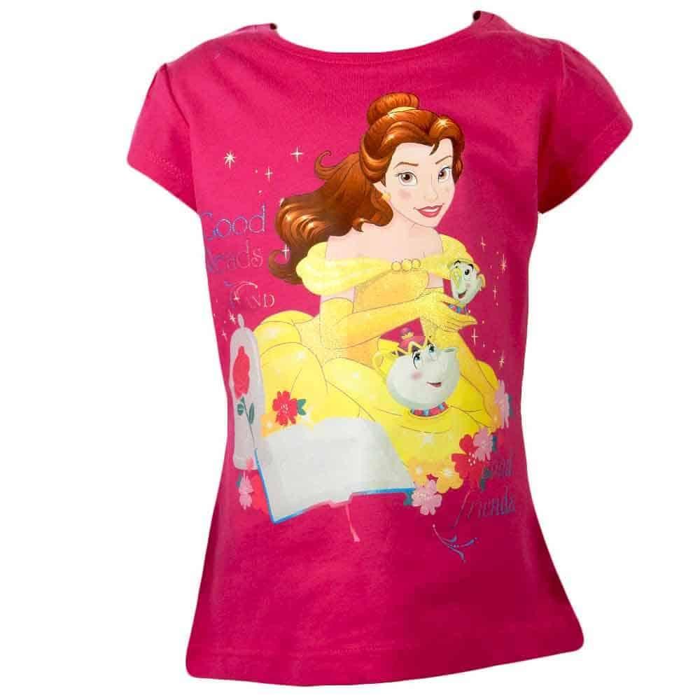 Tricouri pentru fete cu printesele Disney
