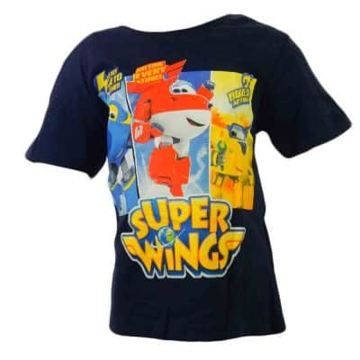Imbracaminte pentru baieti, tricou disney Super Wings