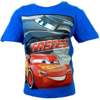 Tricou pentru baieti Cars disney