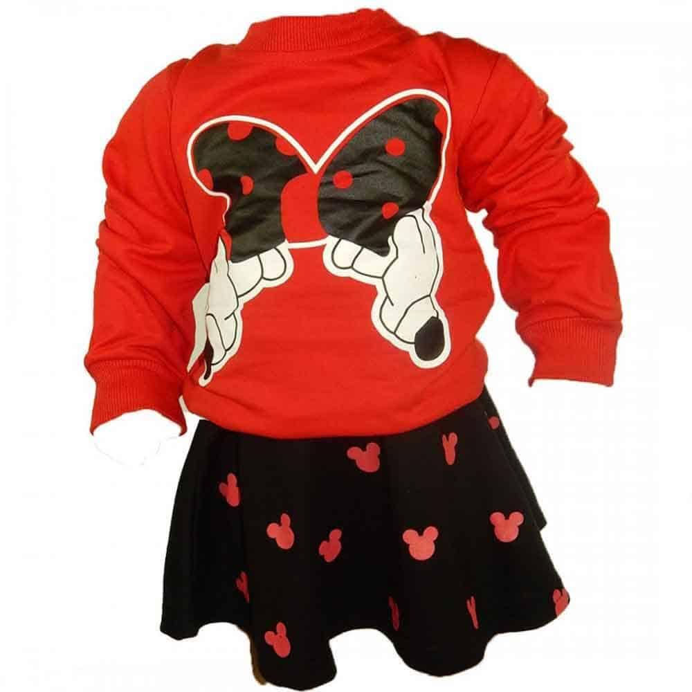 Bluza si fusta pentru bebe fetite