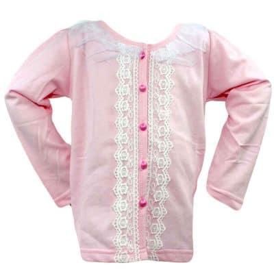 Pulover pentru fete cu nasturi