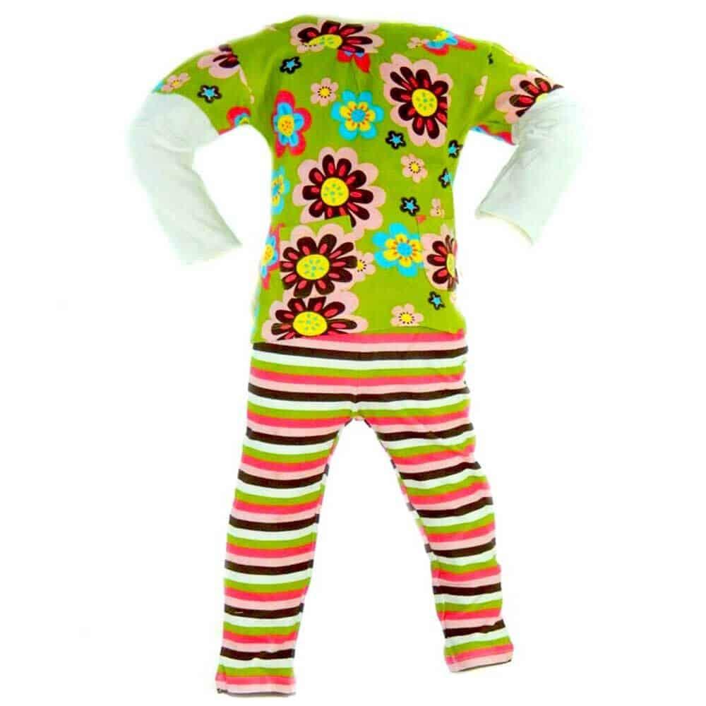 Set bluza si colanti pentru bebelusi
