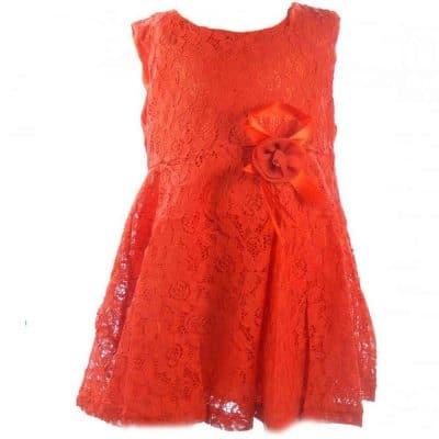 Rochie din dantela pentru bebelusi fete