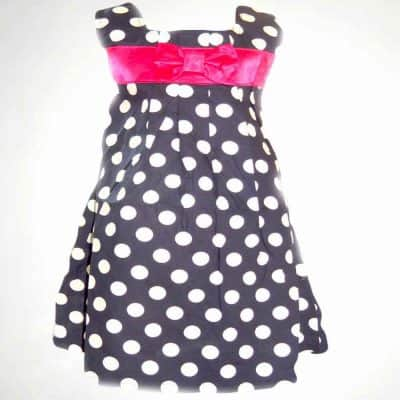 Rochie pentru fete cu buline