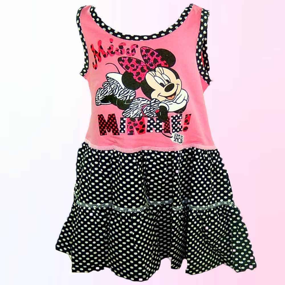 Rochie pentru fetite Minnie Mouse