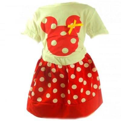 Tricou si fustita pentru fete Minnie