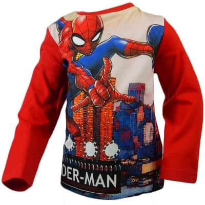 Haine pentru copii. Bluze baieti Spiderman