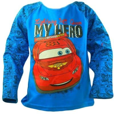 Haine pentru baieti. Bluza Cars