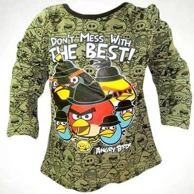 Hainute pentru copii. Bluza Angry Birds
