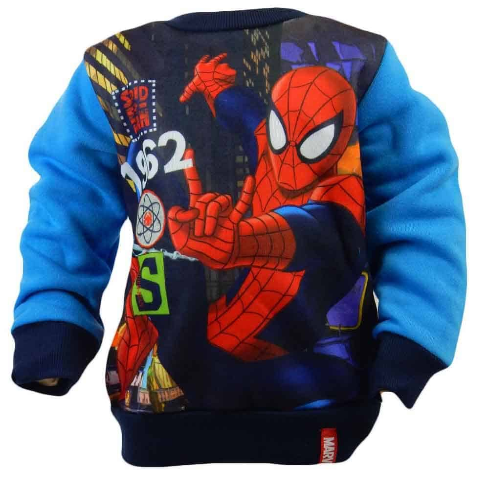 Bluze groase pentru copii. Bluza Spiderman