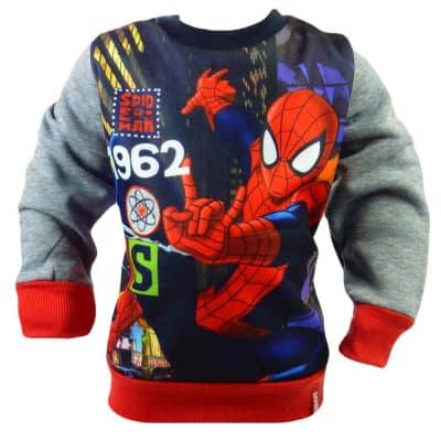 Haine de copii groase. Bluza Spiderman