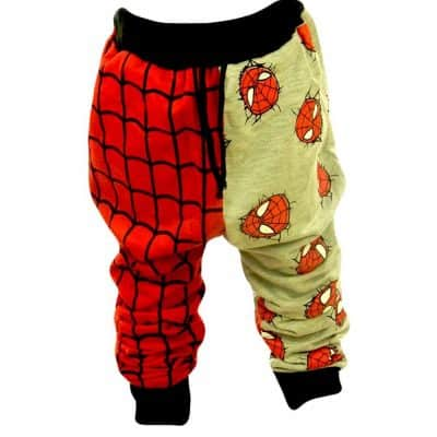Haine disney pentru copii. Pantaloni Spiderman online