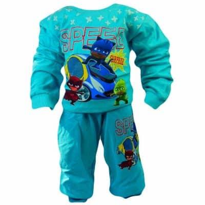 Treninguri pentru copii. Trening bumbac Eroii in Pijama