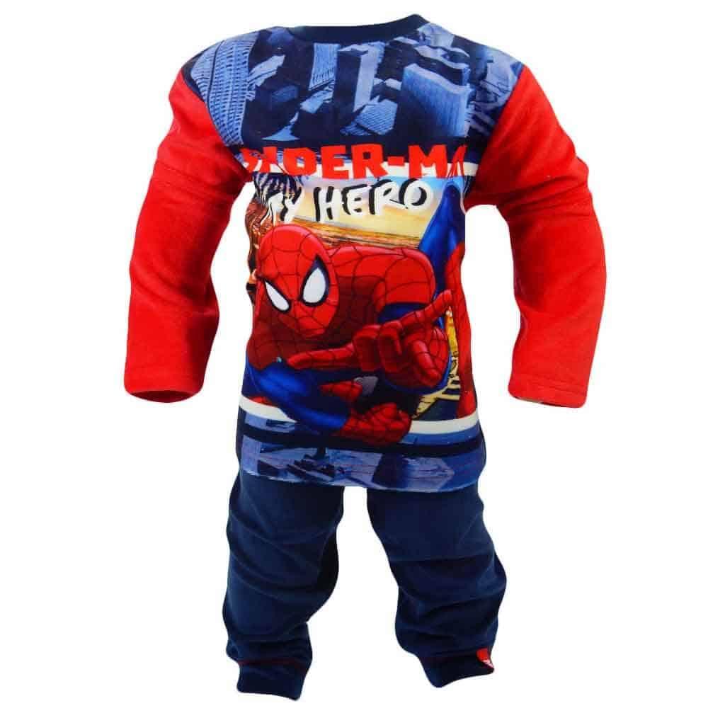 Haine pentru copii. Treninguri Spiderman